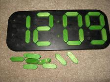 Montessori Teaching Equipment Tell The Time Wooden Digital Numerals Clock