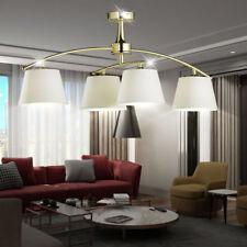 Luminaire de plafond laiton LA VIE chambre éclairage TISSU CHAMPAGNE lumière