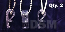 Qty (2) Hold Down for Looped Cord or Chain, Tensioner, Window Blind Loop Holder