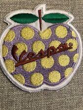 Big Vespa biker art badge Embroidered sew on Patch
