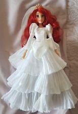 """Disney Once Upon a mariage 2011 Ariel Little Mermaid Mariage 12"""" Poupée Difficile à trouver Rare"""