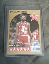 1990-91 Hoops Los Angeles Lakers Basketball Card #26 James Worthy All Star