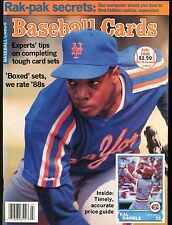 Baseball Cards Magazine July 1988 Doc Gooden jhscd4