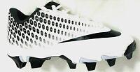 Nike Kids Size 1.5Y Black & White Vapor Ultrafly 2 Keystone Baseball Cleats NEW