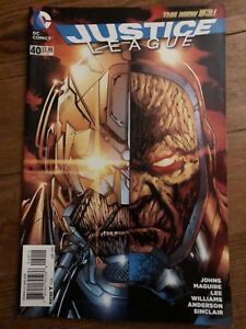 Justice League The New 52 #40 Collectible 2015 Prologue Darkseid War