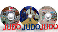 Judo DVD. Children Judo lessons. 3 DVD(Disc only).