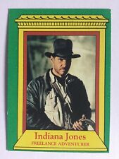 Indiana Jones Raiders Of The Lost Ark Topps 1981 Card 2 Freelance Adventurer