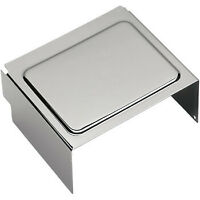 Drag Specialties Chrome Battery Cover Raised For Harley Davidson DS324126