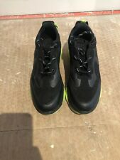 Mens Black And Green Primark Trainers Uk Size 8
