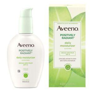 Aveeno Naturals Positively Radiant Daily Moisturizer SPF 15 4.0 oz.