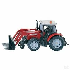 Siku Massey Ferguson 5455 1:32 Scale Model Tractor With Front Loader Collectable