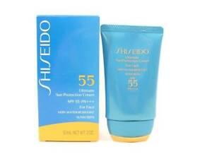 SHISEIDO Ultimate Sun Protection Cream  SPF55 PA+++ for Face 2 oz NIB