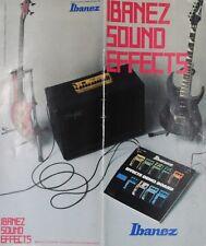 Ibanez Colour Sound Effects Catalogue (1990)