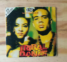 "CD AUDIO MUSIQUE INT/ 2 UNLIMITED ""TRIBAL DANCE"" CD SINGLE 1993 CARD SLEEVE  3 T"