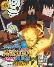 Naruto Shippuden (Box 22) Vol. 640 - 663 Box Set DVD with English Subtitle