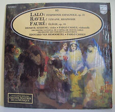 33T LALO RAVEL FAURE Disque LP SZERYNG Violon CASALS Violoncelle ALPHA N° 80