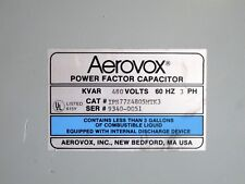 Aerovox IPS77Z4805MTK3 Power Factor Capacitor 480 VAC 3 PH NEMA