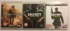 3 Complet Jeux PS3 Call of Duty Modern Warfare 2 MW2 +3 MW3 + Black Ops 1 PAL