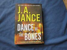 J. P. Beaumont Mystery DANCE OF THE BONES #5 HbDj J. A. Jance ~SiGned~ Nice Copy