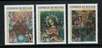 S23652) Bolivia 1997 MNH Christmas 3v