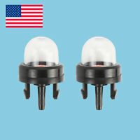2 Snap In Primer Bulb Pump Bulbs For Homeliter STHIL Ryobi ECHO McCulloch Poulan