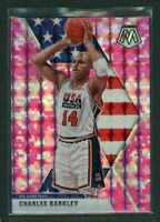 2019-20 Charles Barkley Panini Mosaic Pink USA Team