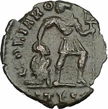 "VALENS ""Last True Roman"" w labarum 367AD Ancient Roman Coin Christ monog  i50706"
