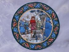 "Wedgwood Bone China Plate ""Arthur Draws The Sword"" 1986 1St Issue Limited Ed"