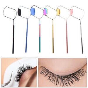 Multifunction Check Eyelash Extension Makeup Grafting Mirror Mouth Teeth CarBBI