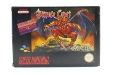 Demon's Crest in OVP + Anleitung - CIB 100% ORIGINAL für Super Nintendo / SNES