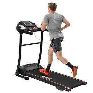 Electric Treadmill Folding Motorized Runing Jogging Walking Machine 1.5HP Motor