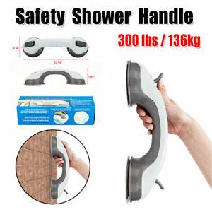 Bath Shower Grip Handle Suction Cup Safety Grab Bar Bathroom Toilet Tub Rail