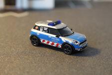 Mini Cooper Cross Country von Herpa Polizei Hamburg 1:87  HH-7478 mit OVP