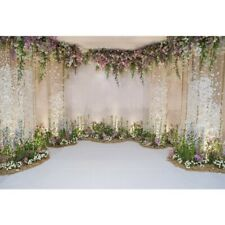 Wedding Flower Wall 5x7ft Photography Backgrounds Seamless Floral Photo Awesome