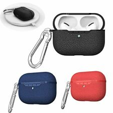 For Apple AirPods Pro Charging Box Case Leather Shockproof Soft Protective Cover