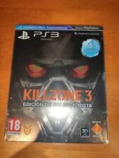 Killzone 3 Edicion Coleccionista - PS3 PAL España - Steelbook