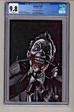 DC's Batman #100 Mico Suayan Joker Sketch Variant Cover CGC 9.8