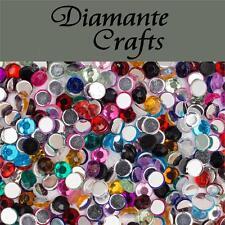 1000 3mm colori misti Diamante LOOSE Piatto Retro CON STRASS PER UNGHIE BODY ART Vajazzle
