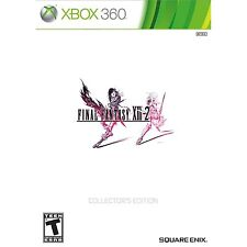 Final Fantasy XIII-2 13-2 - Collector's Edition [Xbox 360, RPG Video Game] NEW