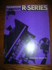 Organ Book:  Hammond Organ R Series Owner's Playing Guide