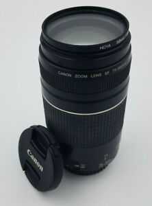 CANON LENS - EF 75-300MM 1:4-5.6 (FAULTY)