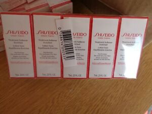 SHISEIDO TREATMENT SOFTENER ENRICHED LOTION FOR NORMAL DRY &VERY DRY SKIN 10X7ML