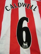Sunderland AFC Steven Caldwell Home Football Shirt 2005-06 Season SAFC