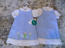 Glorimont REVERSIBLE Blue Bunny Dress & Shirt 4T NEW WITH TAGS