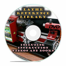 Learn to Run a Lathe-How to do Metal Turning Boring Fabrication Guides Cd V23