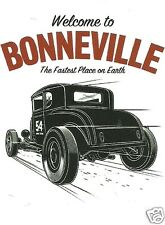 WELCOME TO BONNEVILLE HOT ROD Sticker Decal