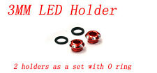 RC CNC Aluminium 3mm LED Light Holder for 1/10 Car Buggy Truck
