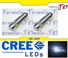 LED Light 50W BAY9s H21W White 5000K Two Bulbs Parking Backup Marker Signal