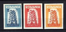 ROUMANIE Romania 1957 Europa Emission Propagande 3 val ND MNH ** RR
