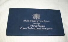 """CROWN COIN """"THE ROYAL WEDDING"""" Charles & Diana 1981 coin, official tribute"""